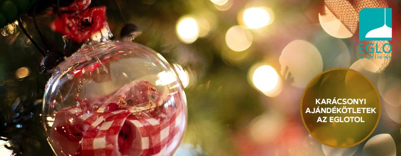 Karácsonyi ajándék ötletek az EGLO-tól