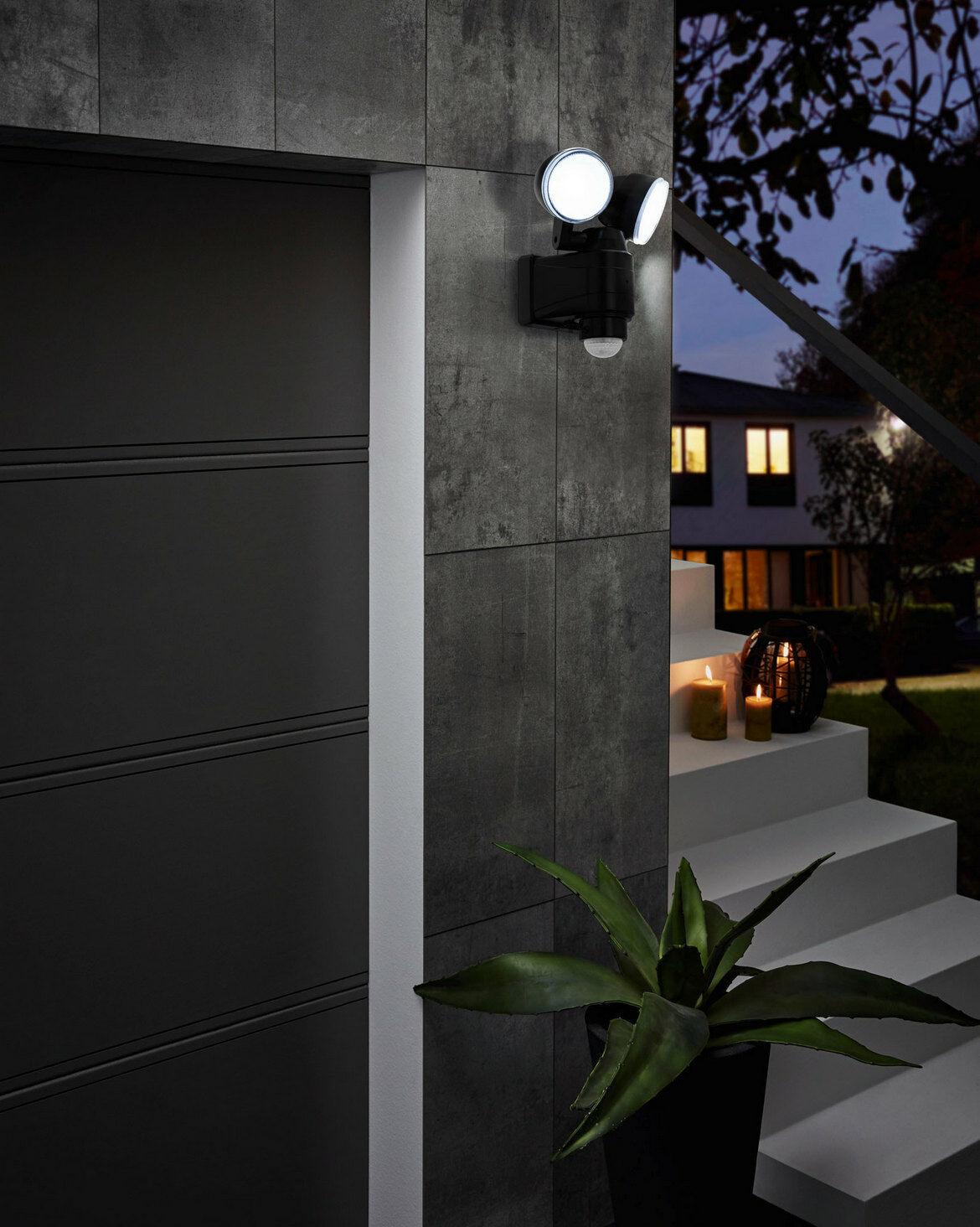 98189 EGLO CASABAS szenzoros LED kültéri fali lámpa