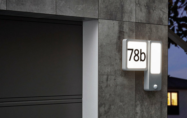 97297 EGLO CHEIRA LED mozgásérzékelős házszám lámpa
