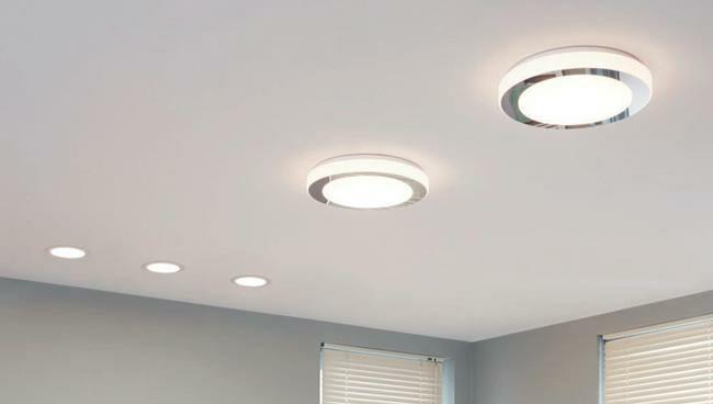 EGLO fürdőszoba lámpa FUEVA és LED CARPI