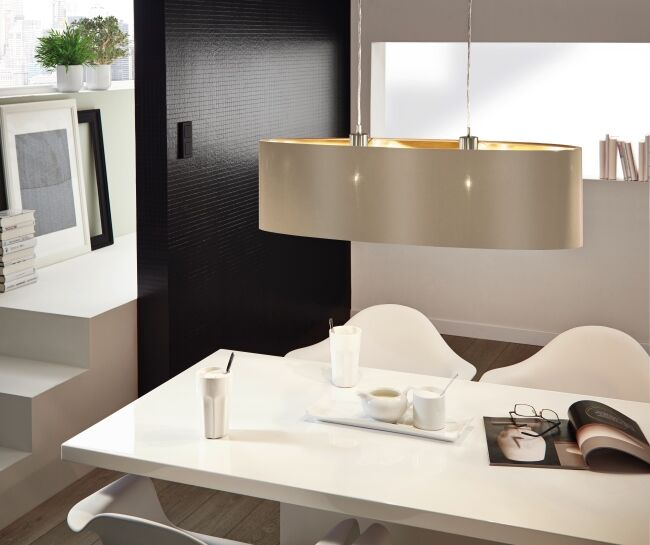 EGLO MASERLO textil lámpa 31613