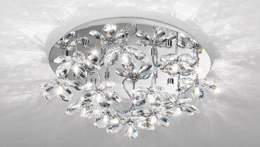 EGLO kristály lámpa PONTEDO 93081