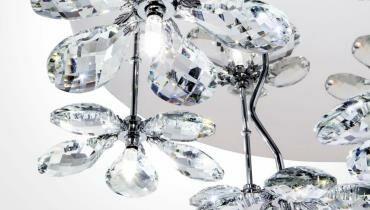 EGLO kristály lámpa PONTEDO