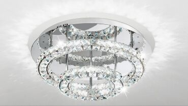EGLO kristály lámpa TONERIA 39003